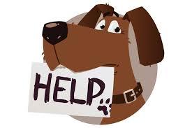 Dog Cartoon Help Sign 750 X 500 Pg San Marcos Corridor News