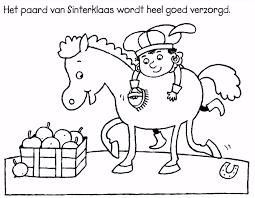 9 Sinterklaas Kleurplaat Moeilijk Sampletemplatex1234