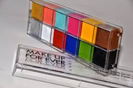 review makeup forever flash palette