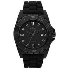 adidas men s watches shop the best deals for 2017 adidas men s stockholm adh2669 black rubber black dial quartz watch