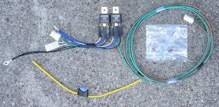 electrical fiat 124 2000 spider 131 brava headlight relay kit fiat 124 2000 spider sku 20 7305