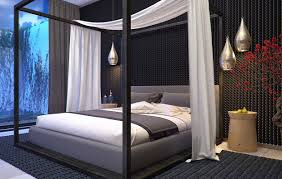 Four Poster Bed Four Poster Bed Interior Design Ideas