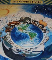 N28 Around The World Earth Globe All Creatures Great and Small ... & N28 Around The World Earth Globe All Creatures Great and Small Cotton  Fabric Quilt Fabric Panel Adamdwight.com