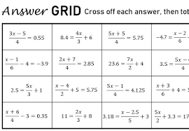 solving 3 step linear equations