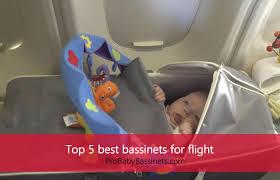 top 5 best bassinets for flight