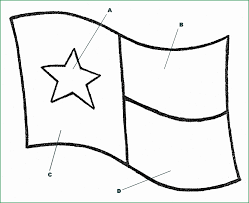 State Of Texas Coloring Page Prettier Texas State Flag Coloring Page