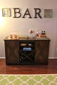 home bar furniture ideas. Make An At Home Bar Area! (World Market Buffet) #worldmarket #bar Furniture Ideas A