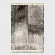 black and white area rug. black/white chevron area rug - project 62™ black and white