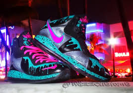 lebron 8 south beach. see the nike lebron 8 \u201csouth beach 8.5\u201d after jump and let us know if you\u0027re feeling this belated tribute from hands of twizz. lebron south