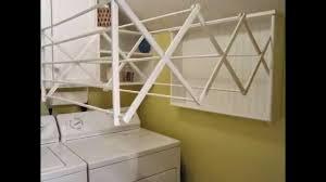 Wall Mounted Drying Rack White