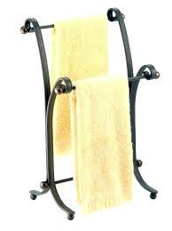 bathroom counter towel holder bathroom hand towel stand fashionable free standing towel racks for small bathrooms