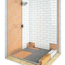 tiling around shower base install shower base on uneven concrete floor installing shower tray on concrete