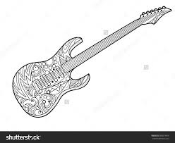 Small Picture guitar coloring pages printable Archives Best Coloring Page