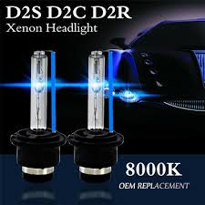 2X <b>8000K Blue D2S D2R</b> D2C 55W 3200LM OEM HID Xenon ...