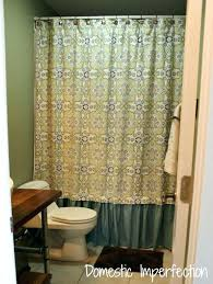 standard shower curtain lengths what size is a standard shower curtain standard shower curtain length full