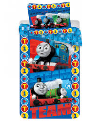 thomas friends steam team single cotton duvet cover set