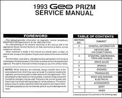 geo prizm fuse box diagram auto wiring diagram schematic 1994 geo prizm wiring diagram 1994 home wiring diagrams on 1996 geo prizm fuse box diagram