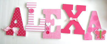 large letters for wall decor wood letter wall decor wooden letters pink  butterfly and letters on