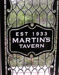 martins tavern leaded glass entry windows