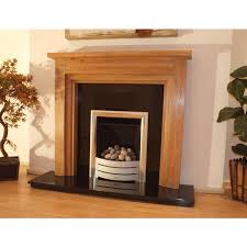 new england solid oak fireplace surround