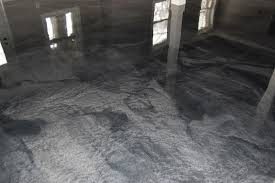 epoxy flooring basement. Wonderfull Design Black Epoxy Floor Basement Man Cave With Metallic In Clayton NC By Witcraft Flooring