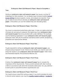 how to write a research paper abstract introduction howsto co   stem cell persuasive essay toreto co 7mt1m research paper writer research paper large