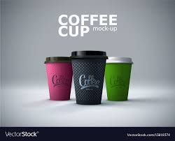 How To Design Paper Cup Paper Coffee Cups Mockup