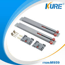 factory making sliding door roller parts furniture accessories soft close sliding door buffer with sliding doors system kure hardware