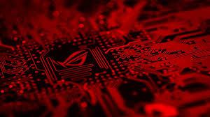 red gaming wallpaper