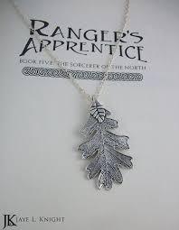 rangers appice oak leaf necklace