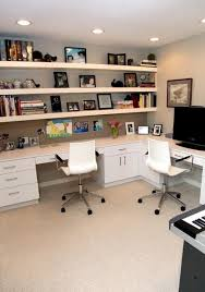 office room designs. Home Office With Floating Shelves Room Designs