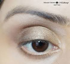gold smokey eye makeup gold smokey eye makeup tutorial diwali special heart bows makeup