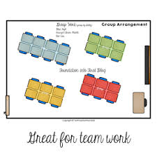 The New Group Seating Chart Group Work Horseshoe Line Of Sight Seating Arrangement
