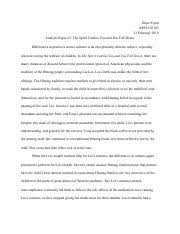 a hope in the unseen analytic essay hope flynn family school and 4 pages the spirit catches you and you fall down analytic paper