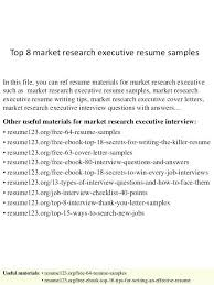 Market Research Executive Cover Letter Zonazoom Com
