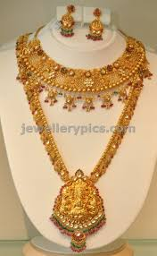 Joyalukkas Kasulaperu Designs With Price Checkout Khazana Jewellers Gold Haram Bridal Set Designs