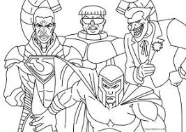 Super, hero, man, superman, villain, evil, background. Free Printable Superhero Coloring Pages For Kids