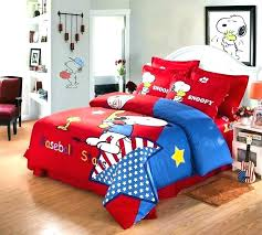 queen size baseball bedding queen size baseball bedding starts red snoopy sets comforter full bed sheets s