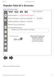 Doctors Excuses For Work Free Fake Doctors Excuse Note Templates At Allbusinesstemplates Com