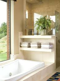 houzz bathroom showers half wall between tub and shower for better storage must have the master