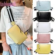 Shoulder Messenger Handbags <b>Stone Pattern</b> Waist Packs <b>Women</b> ...