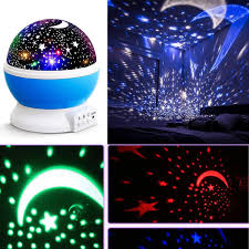 Rotating Color Light Us 9 43 Romantic Easy Cosmos Star Moon Adult Changing Night Kid Led Light Rotating Color Bedroom Baby Projector Ktv Sky Use In Led Night Lights From