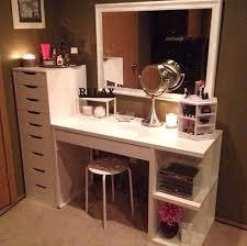 white ikea vanity desk nice desk amp drawer both from room ideas with desk ikea micke