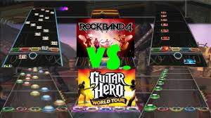 Rock Band 4 Vs Guitar Hero World Tour Chart Comparison Pull Me Under By Dream Theater