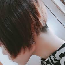 髪切りました ˊᵕˋ 後ろガッツリ刈り上げて少し前下がりにしま