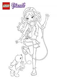 Coloring Pages 40 Fabulous Lego Friends Coloring Pages Photo Ideas