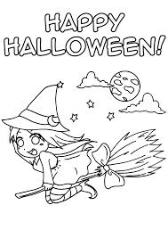 Coloriage Sorci Re Manga Pour Halloween Imprimer