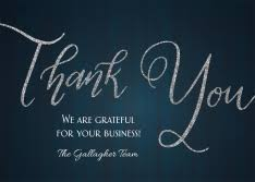 Electronic Thank You Card Free Business Thank You Cards By Cardsdirect