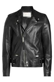 alyx studio black leather jacket isrbvh