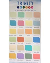 76 Experienced Trinity Paints Colour Chart